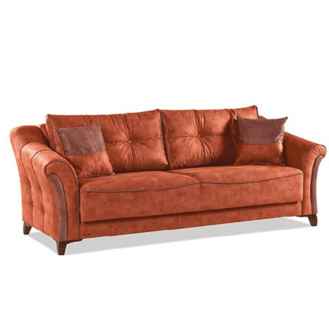 Canapea extensibila 3 locuri Fortuna Orange K4