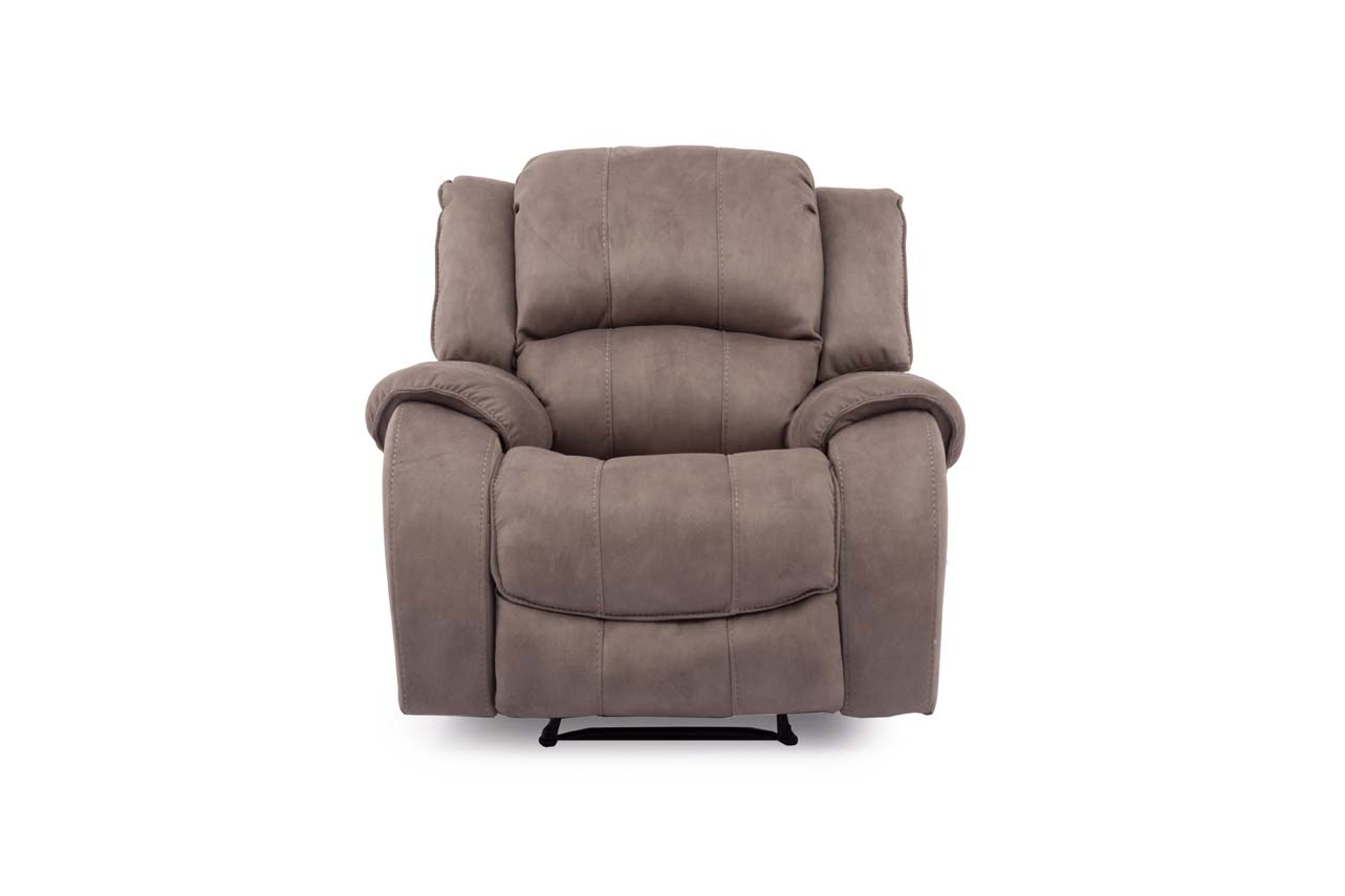 Foto Fotoliu Recliner Electric Tapitat Gri Plus