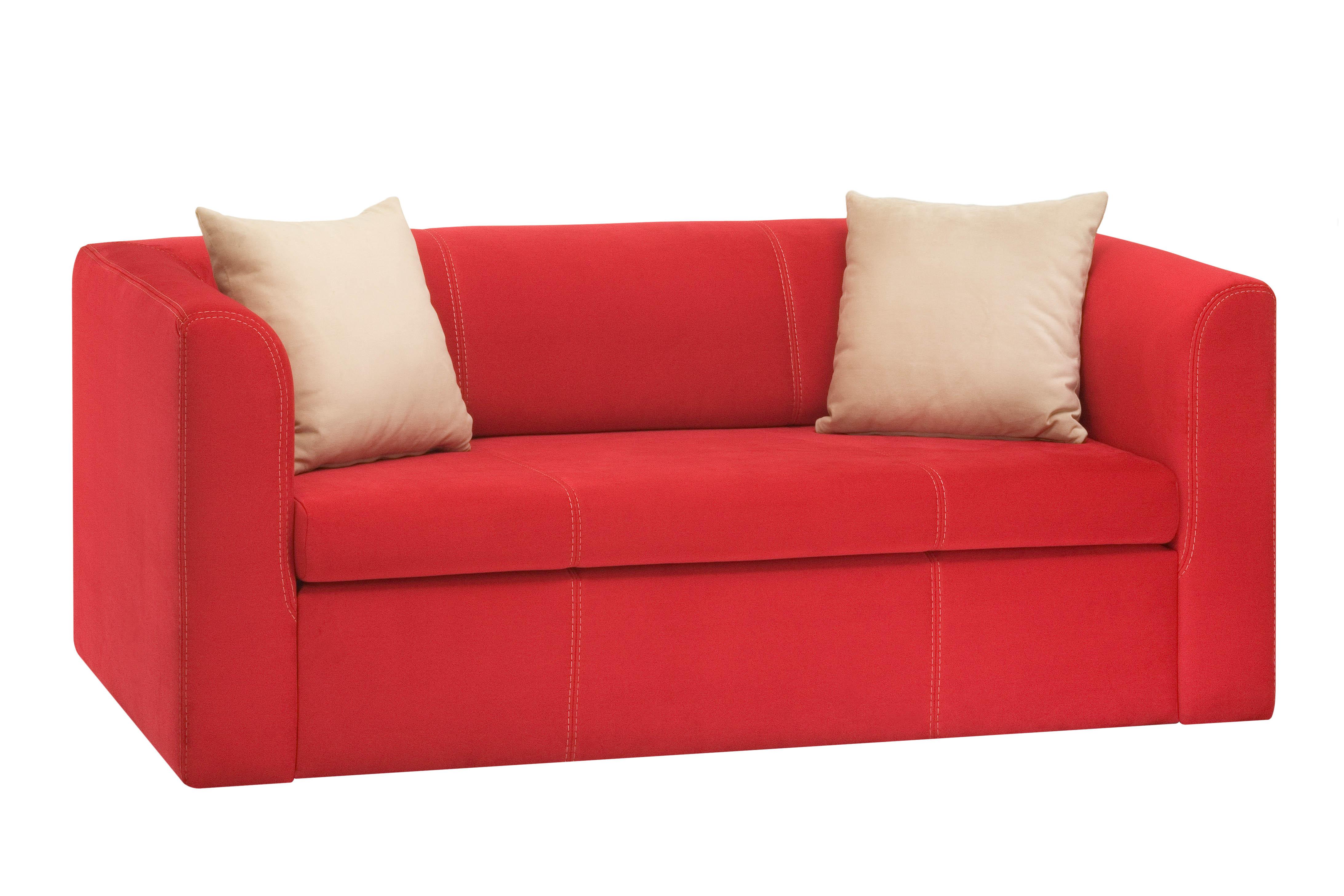 Canapea Extensibila Rosu Poza