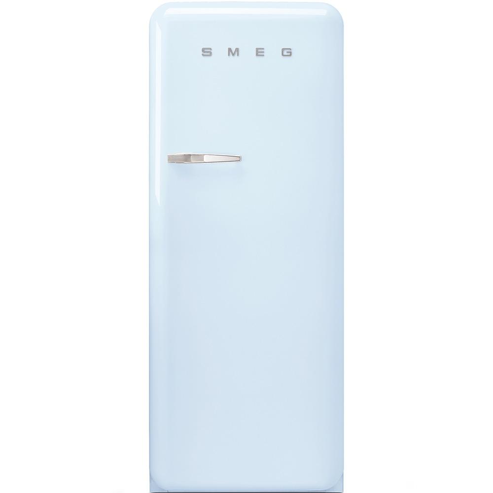 Frigider cu o usa deschidere dreapta FAB28RAZ1 Albastru pastel 60 cm Retro 50 SMEG