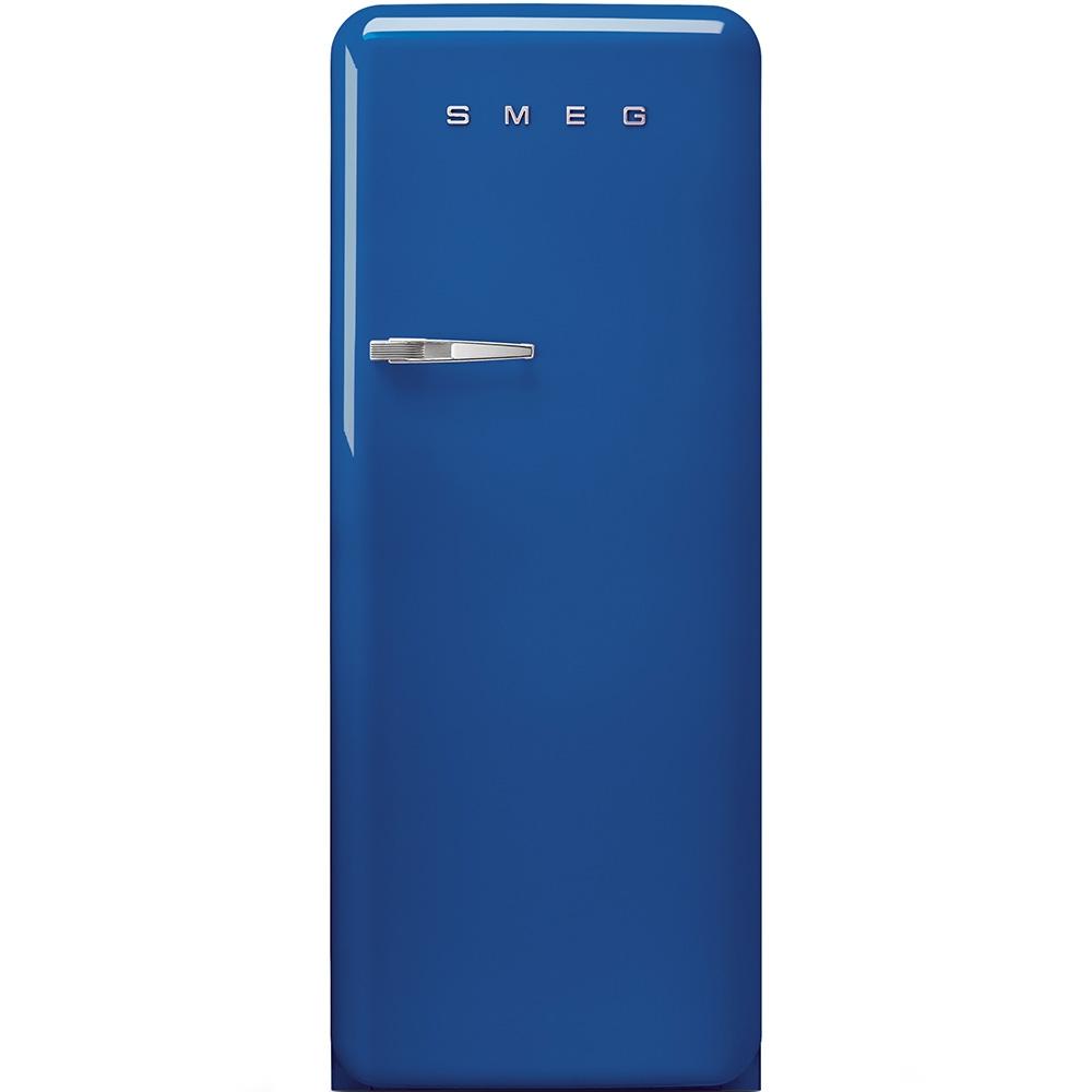 Frigider cu o usa deschidere dreapta FAB28RBL1 Albastru 60 cm Retro 50 SMEG