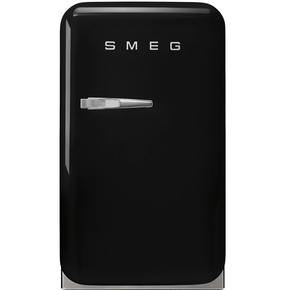 Frigider minibar FAB5RBL Negru 40 cm Retro 50 SMEG