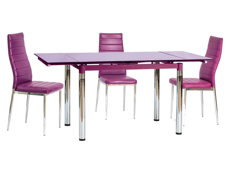 Masa extensibila din sticla GD-018 violet