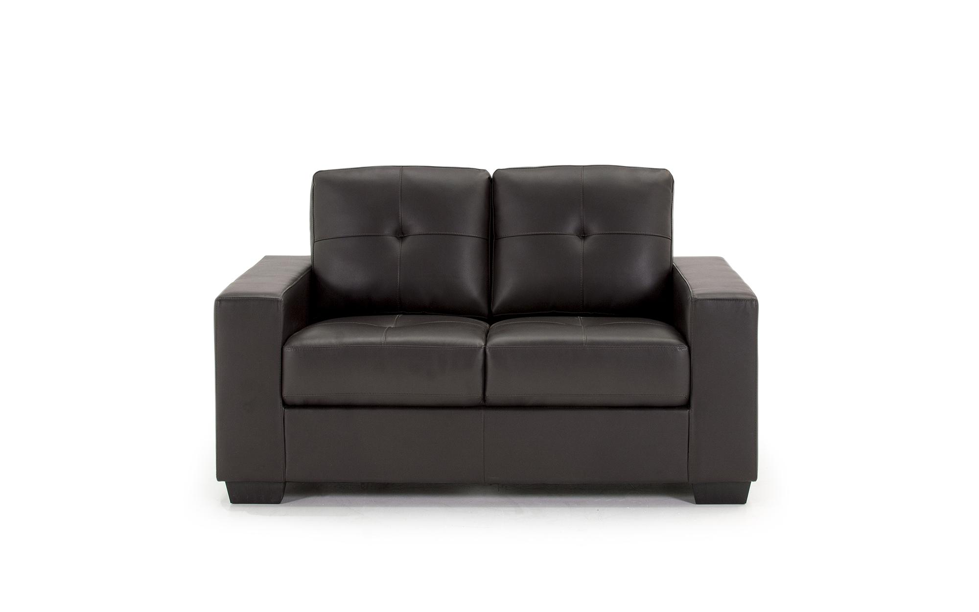 Canapea fixa 2 locuri Gemona Brown