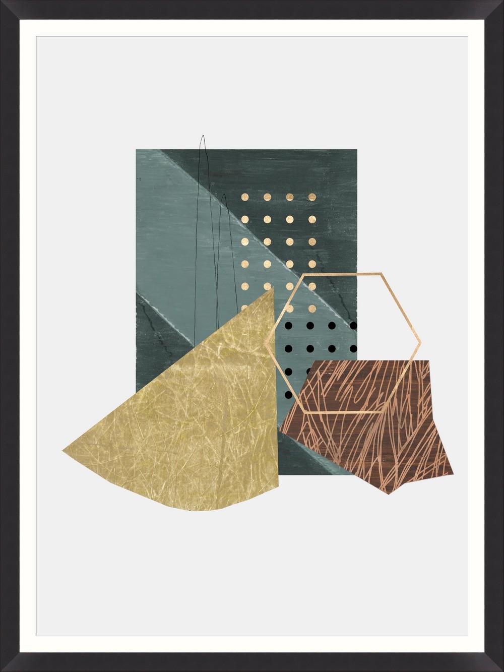 Tablou Framed Art Geometric Prints II imagine