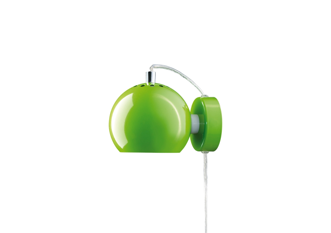 Aplica Ball Lime Green Glossy