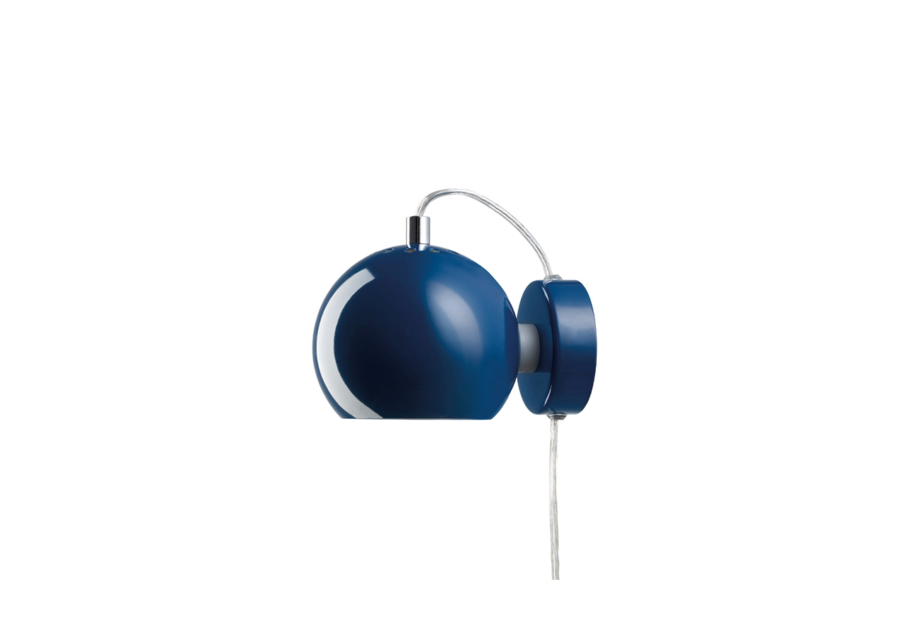 Aplica Ball Dark Blue Glossy