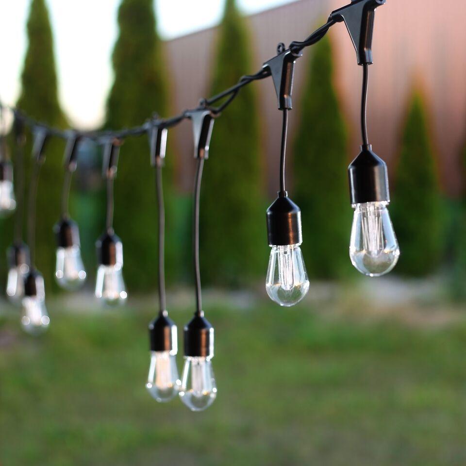 Ghirlanda luminoasa decorativa cu 10 de LED-uri Wonderful Premium Transparent / Black L800 cm