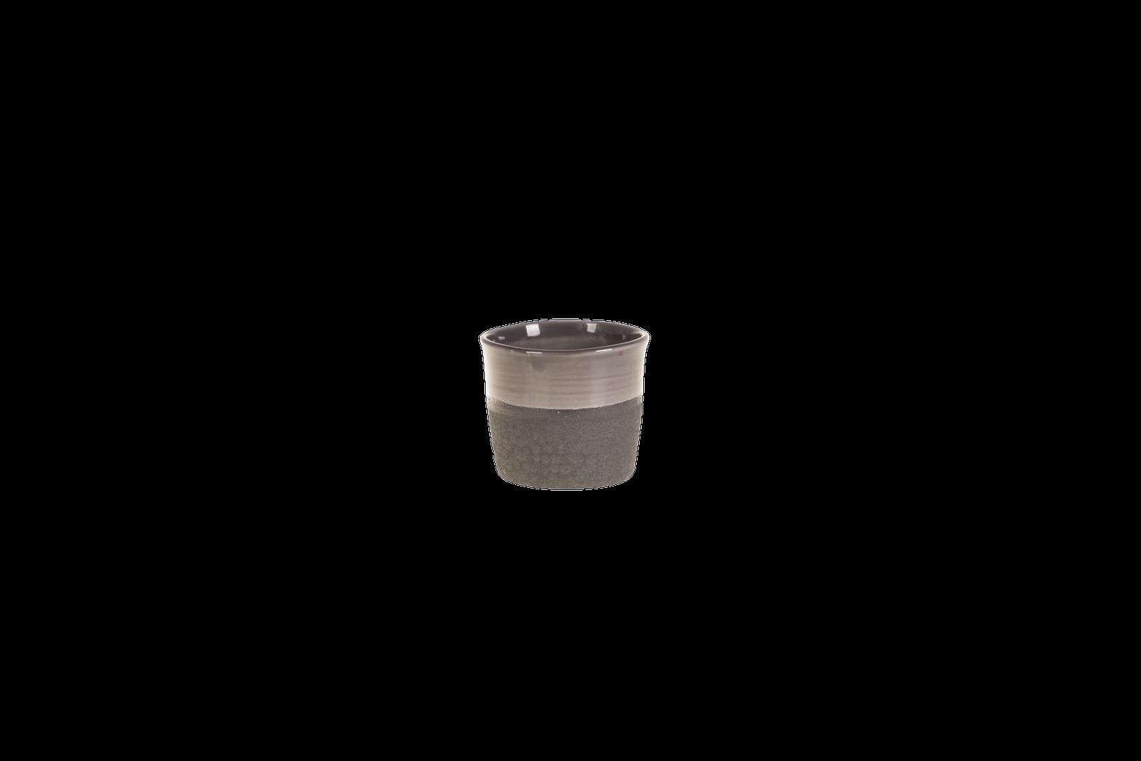 Set 6 ghivece ceramice Atmosphere Black O 12 cm