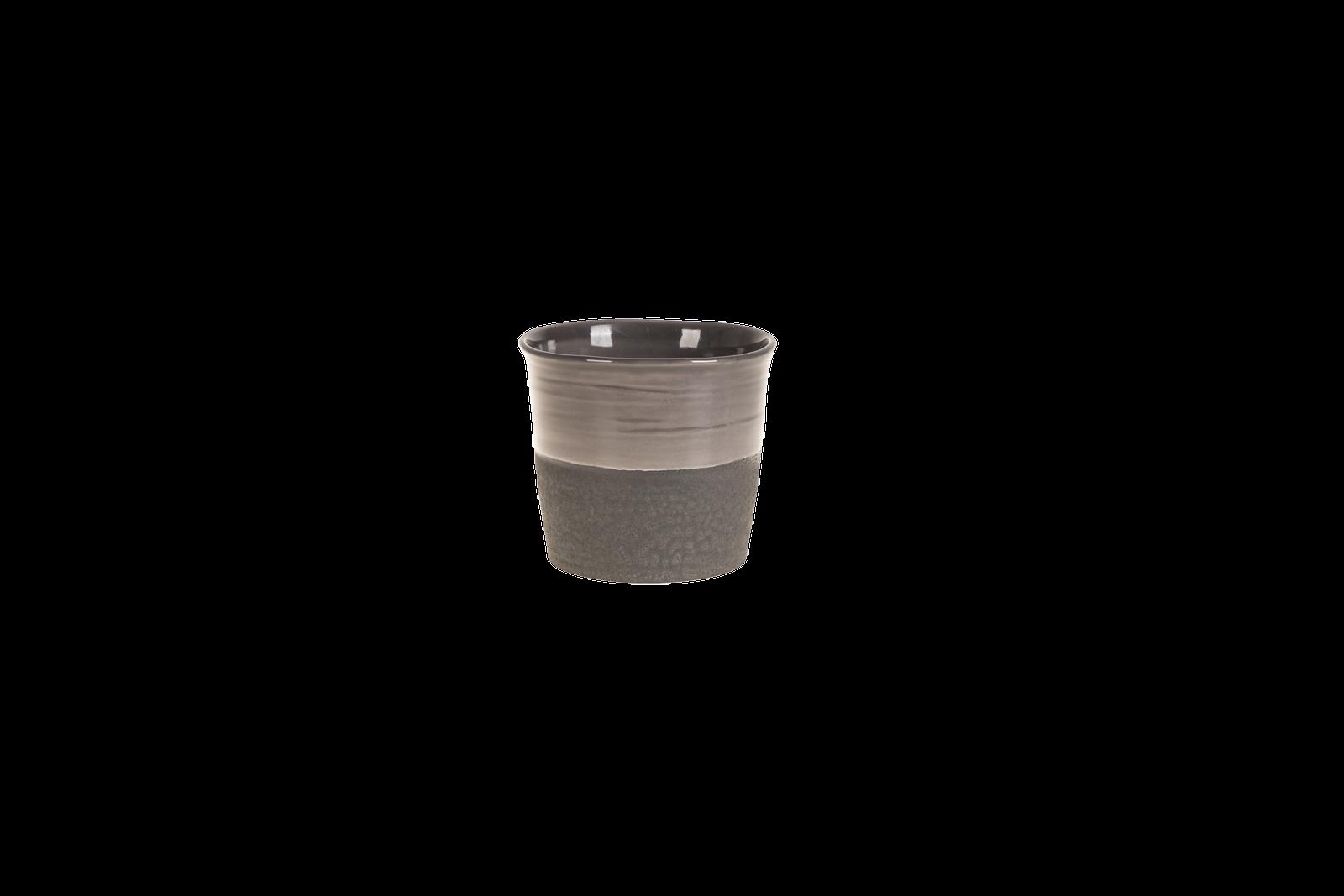 Set 6 ghivece ceramice Atmosphere Black O 15 cm