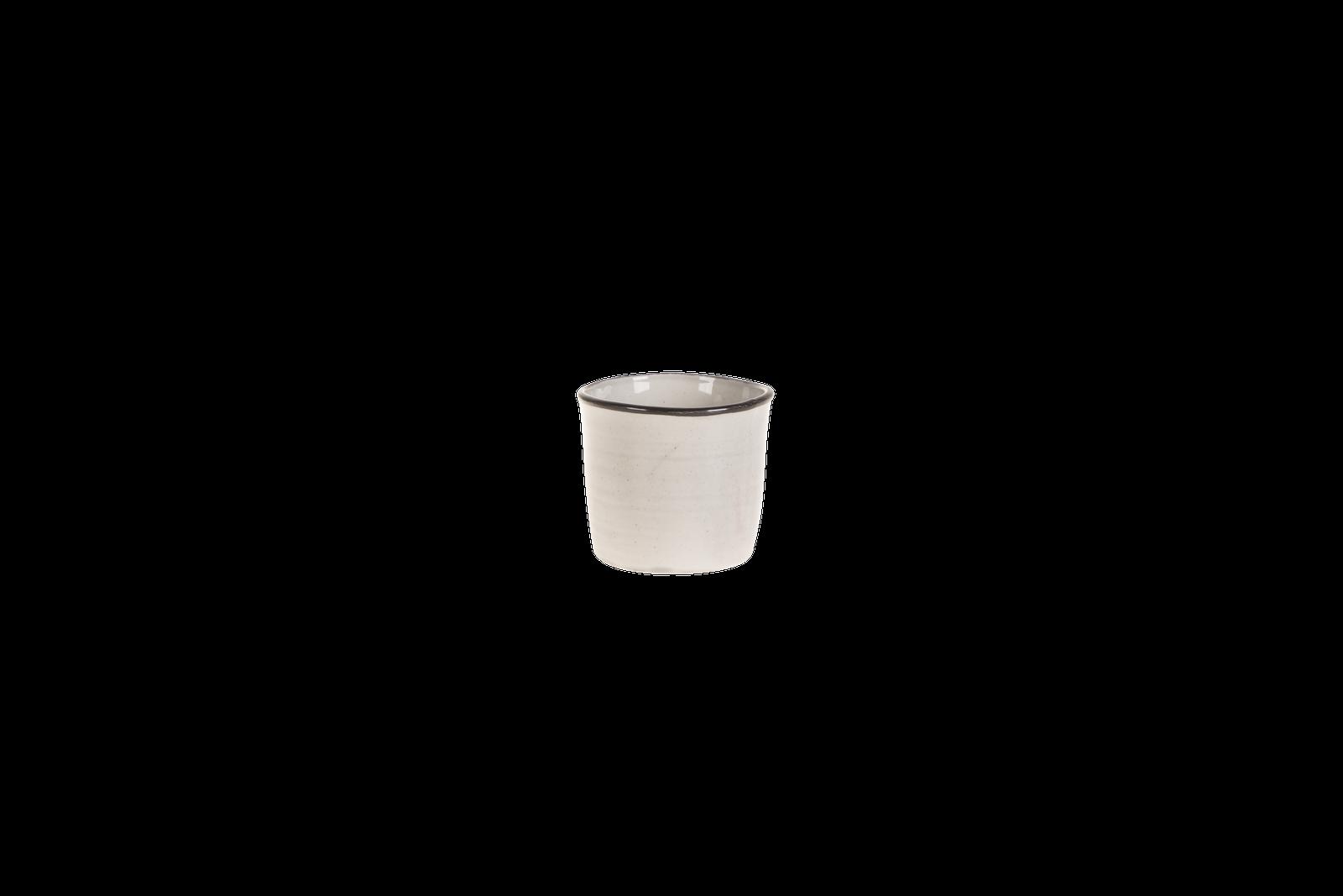 Set 6 ghivece ceramice Atmosphere Grey O 12 cm