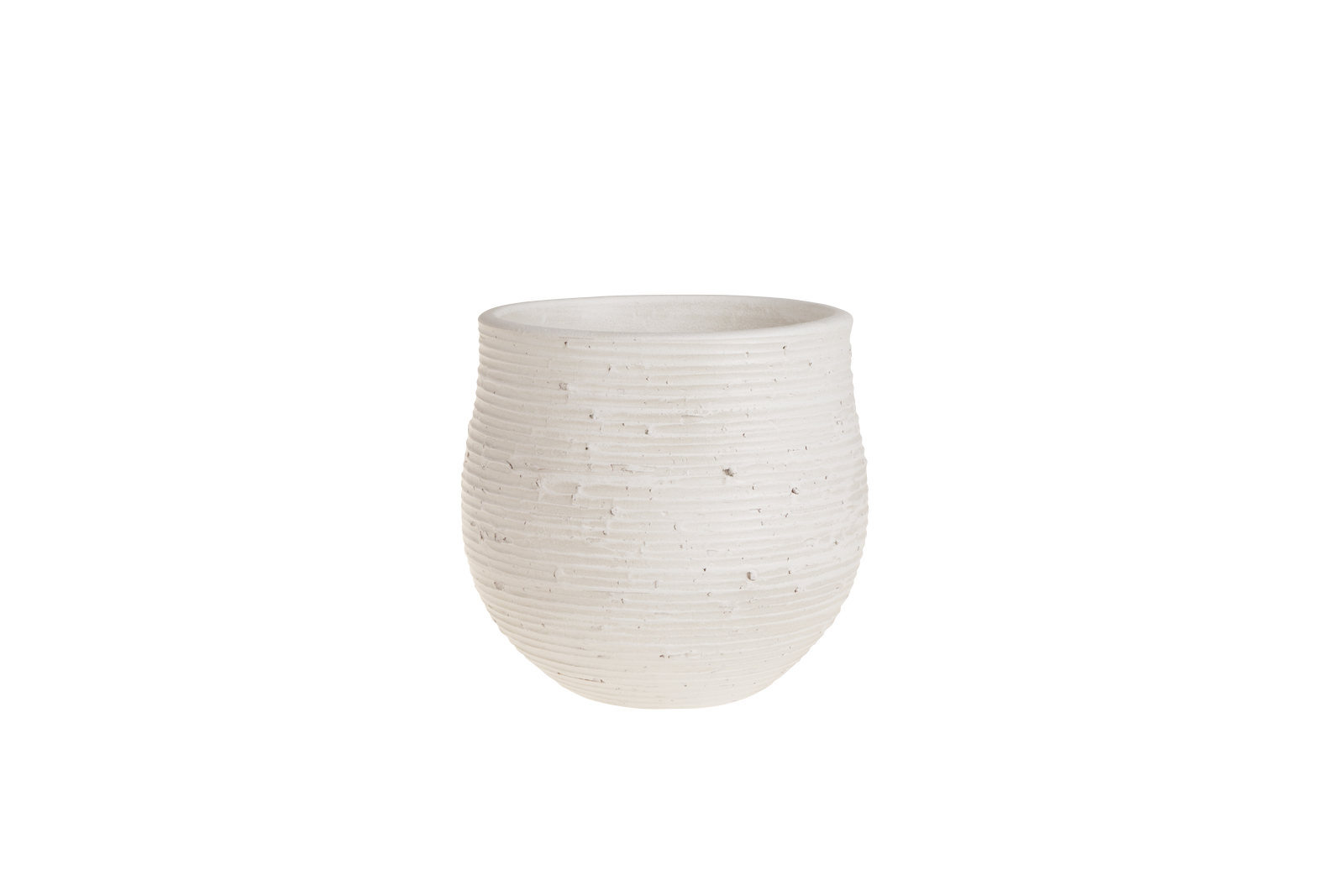 Set 2 ghivece ceramice Atmosphere White O 195 cm
