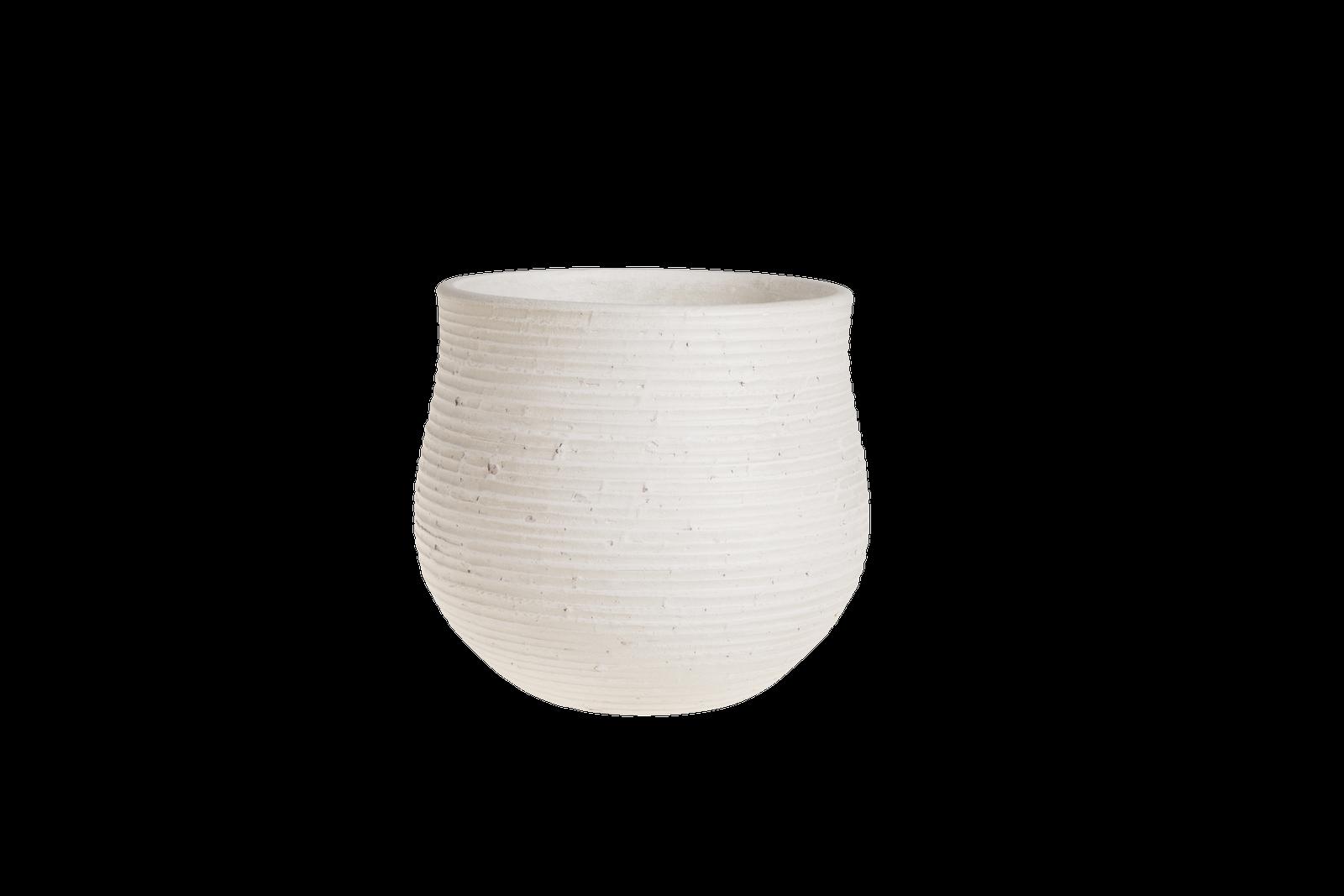 Ghiveci ceramic Atmosphere White O 225 cm