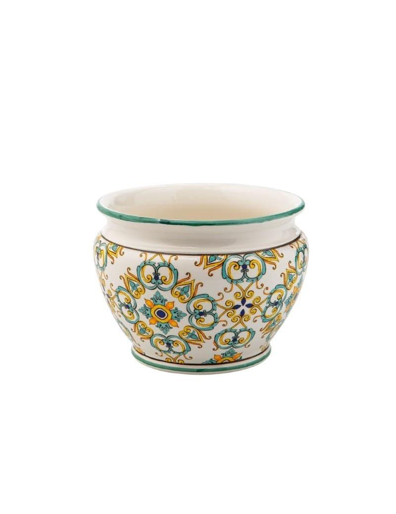 Ghiveci din ceramica, Medicea Big Multicolor, Ø37xH27 cm