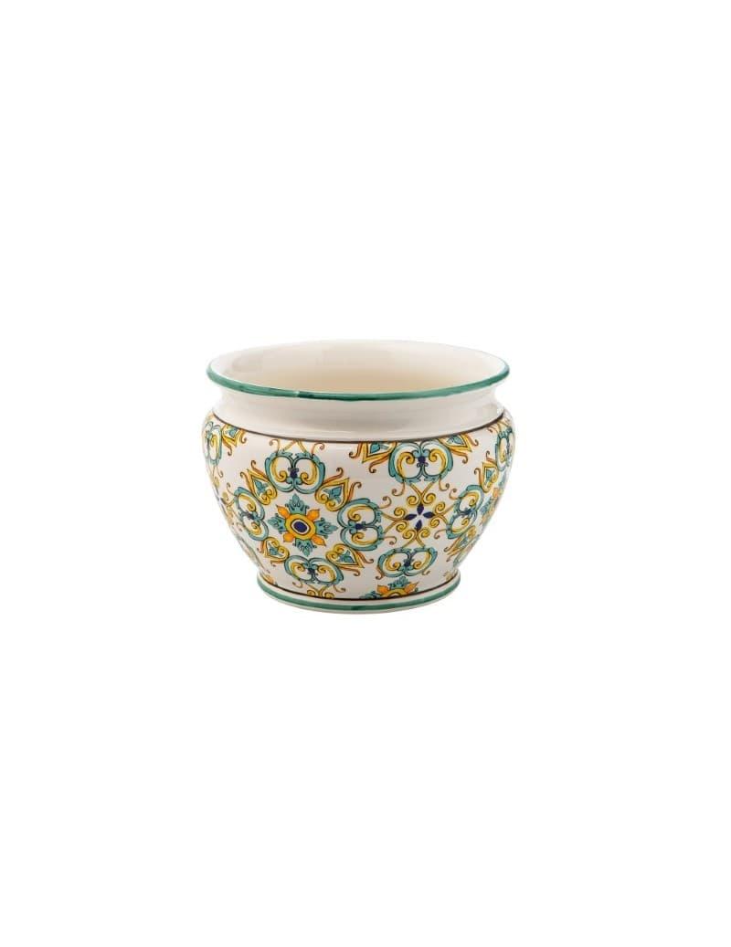 Ghiveci din ceramica, Medicea Small Multicolor, Ø30xH21 cm