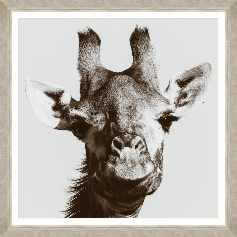 Tablou Framed Art Giraffe Portrait