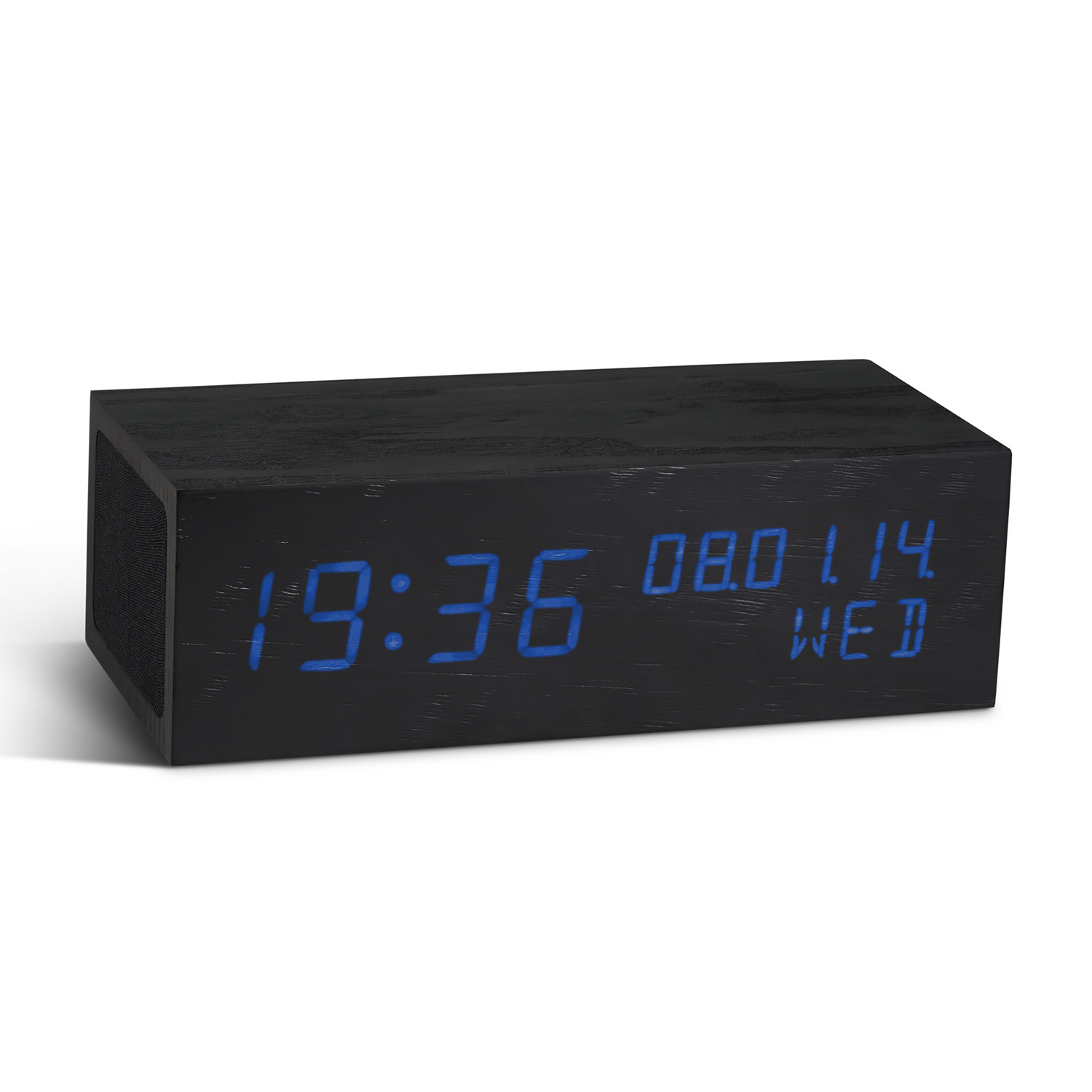 Ceas Music Click Clock Black