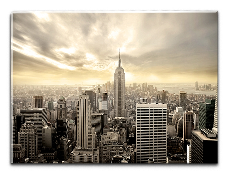 Tablou Sticla Glasspik Manhattan 70x100 cm