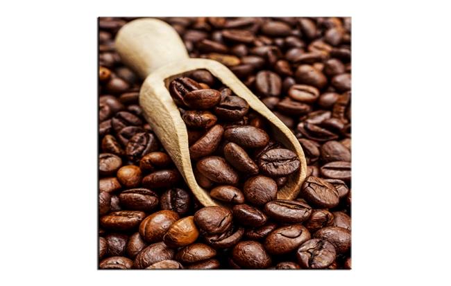 Tablou Sticla Glasspik Coffee 1C, 20x20 cm imagine