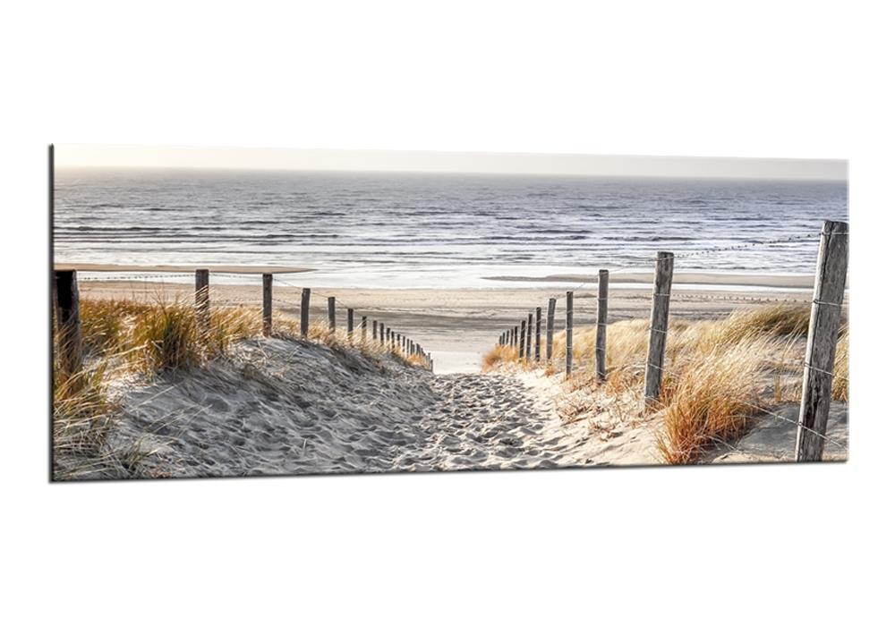 Tablou Sticla Glasspik Dunes V 50x125 cm