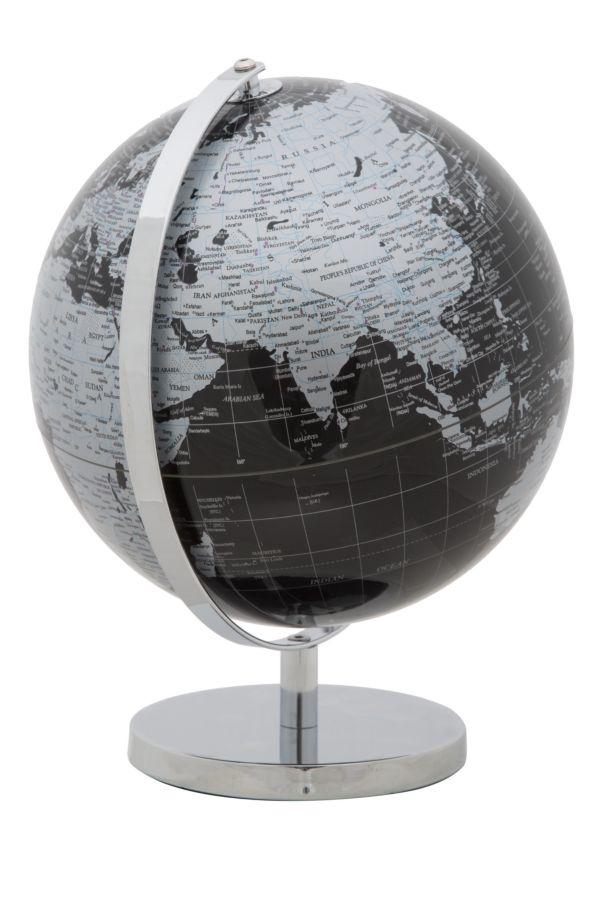Glob pamantesc Mapamond Black