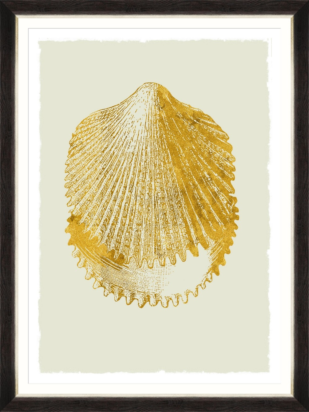 Tablou Framed Art Golden Seashell II