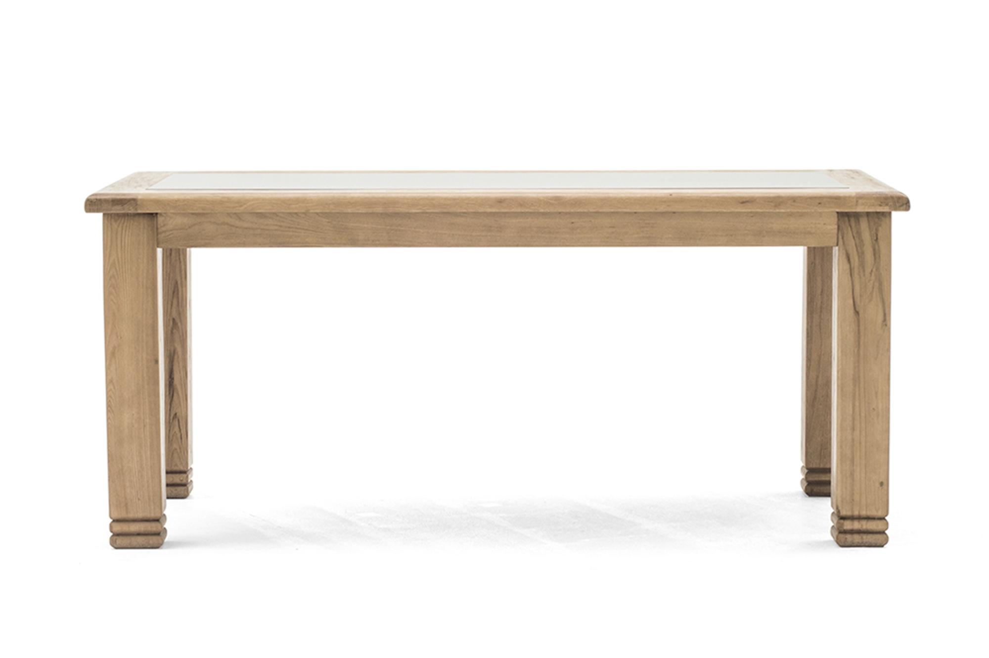 Masa din lemn de stejar Grant L180xl90x h77 cm