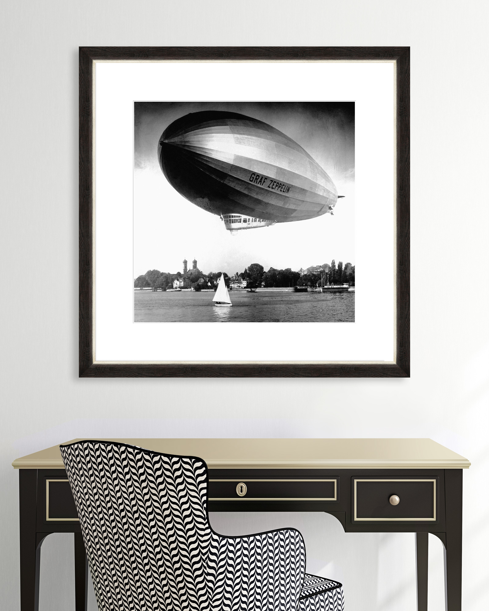 Tablou Framed Art Graf Zeppelin