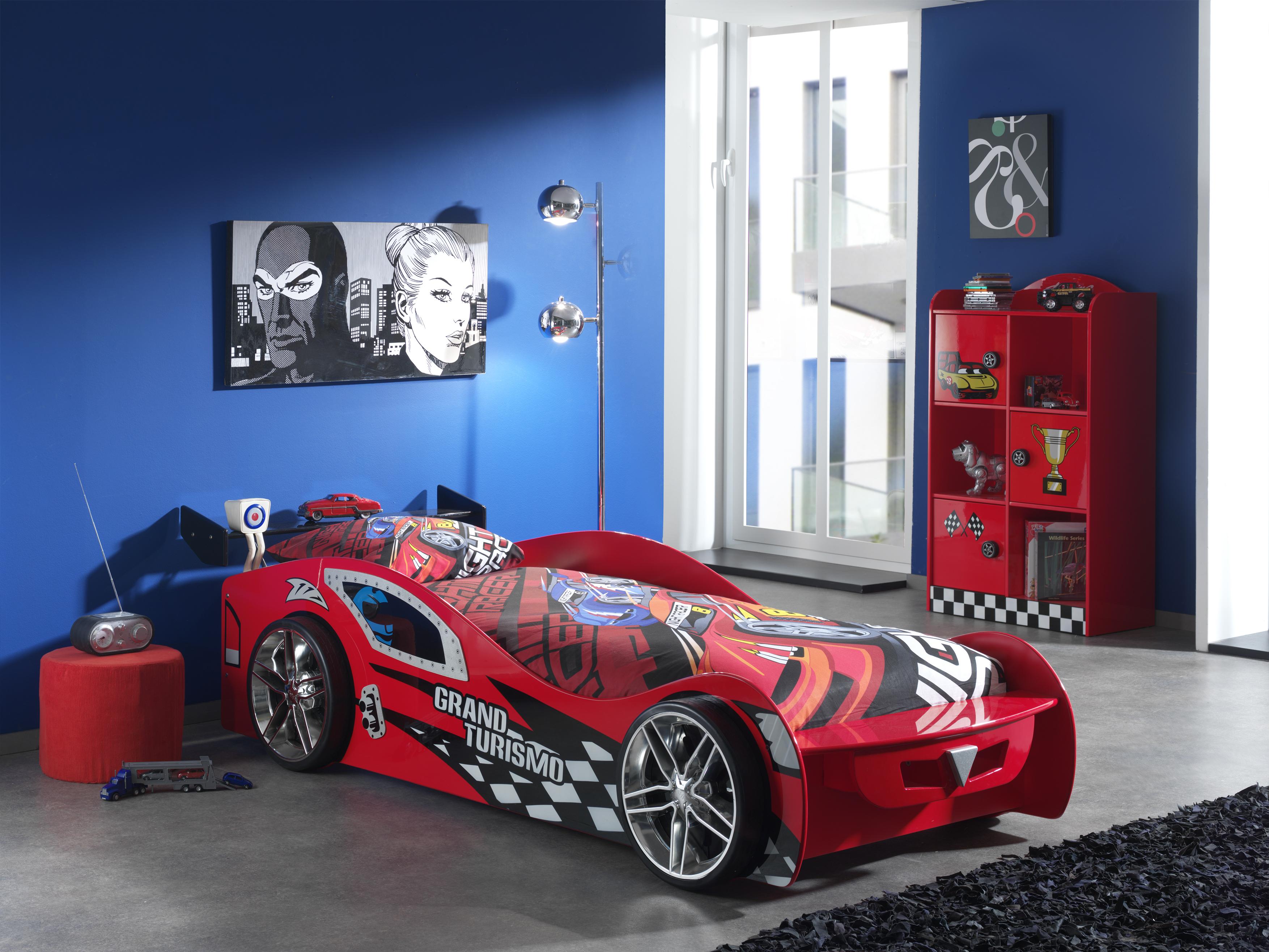 Set Mobila dormitor pentru copii Grand Turismo