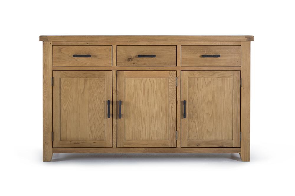 Comoda din lemn de stejar Hampshire Large II
