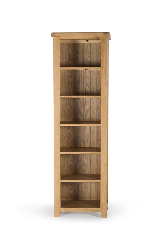 Biblioteca din lemn de stejar Hampshire Slim