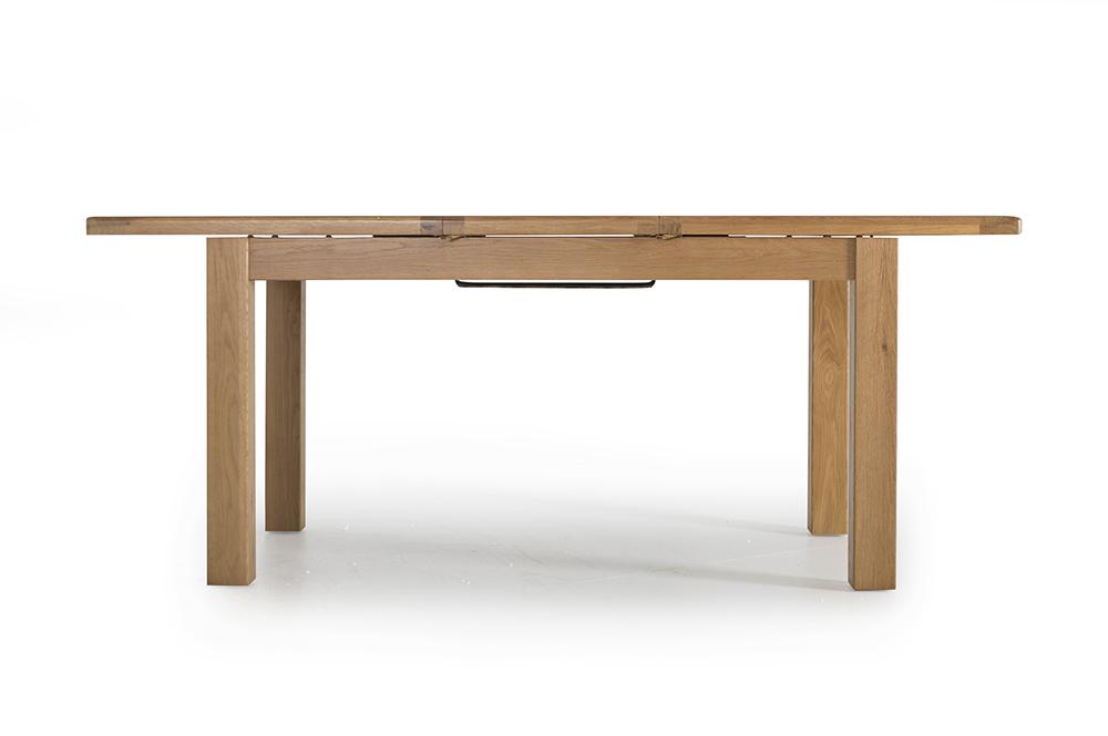 Masa din lemn de stejar Hampshire L150-195xl90x h77 cm