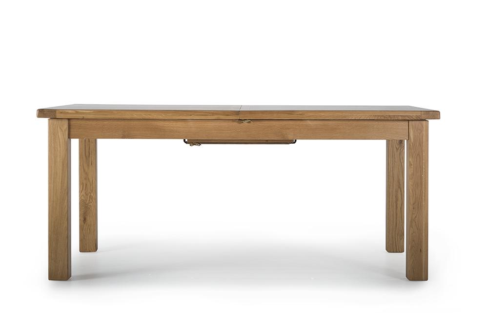 Masa din lemn de stejar Hampshire L180-230xl100x h78 cm