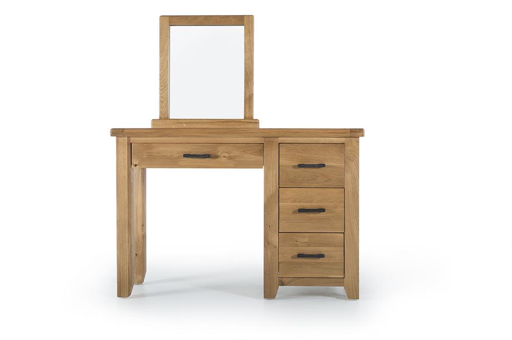 Set masa si scaun cu oglinda pentru machiaj Hampshire