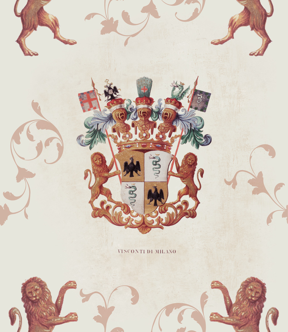 Set 3 role Tapet Imprimat Digital Heraldy
