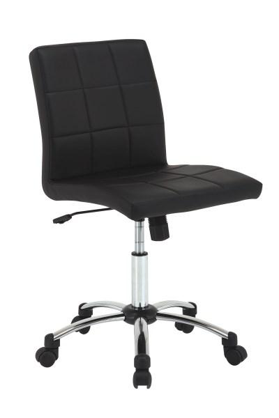 Scaun de birou ergonomic Hot Black