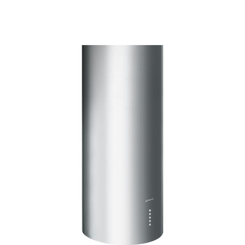 Hota decorativa cilindrica KIR37XE Inox 37 cm SMEG