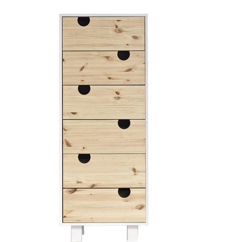 Cabinet Lemn Pin Poza