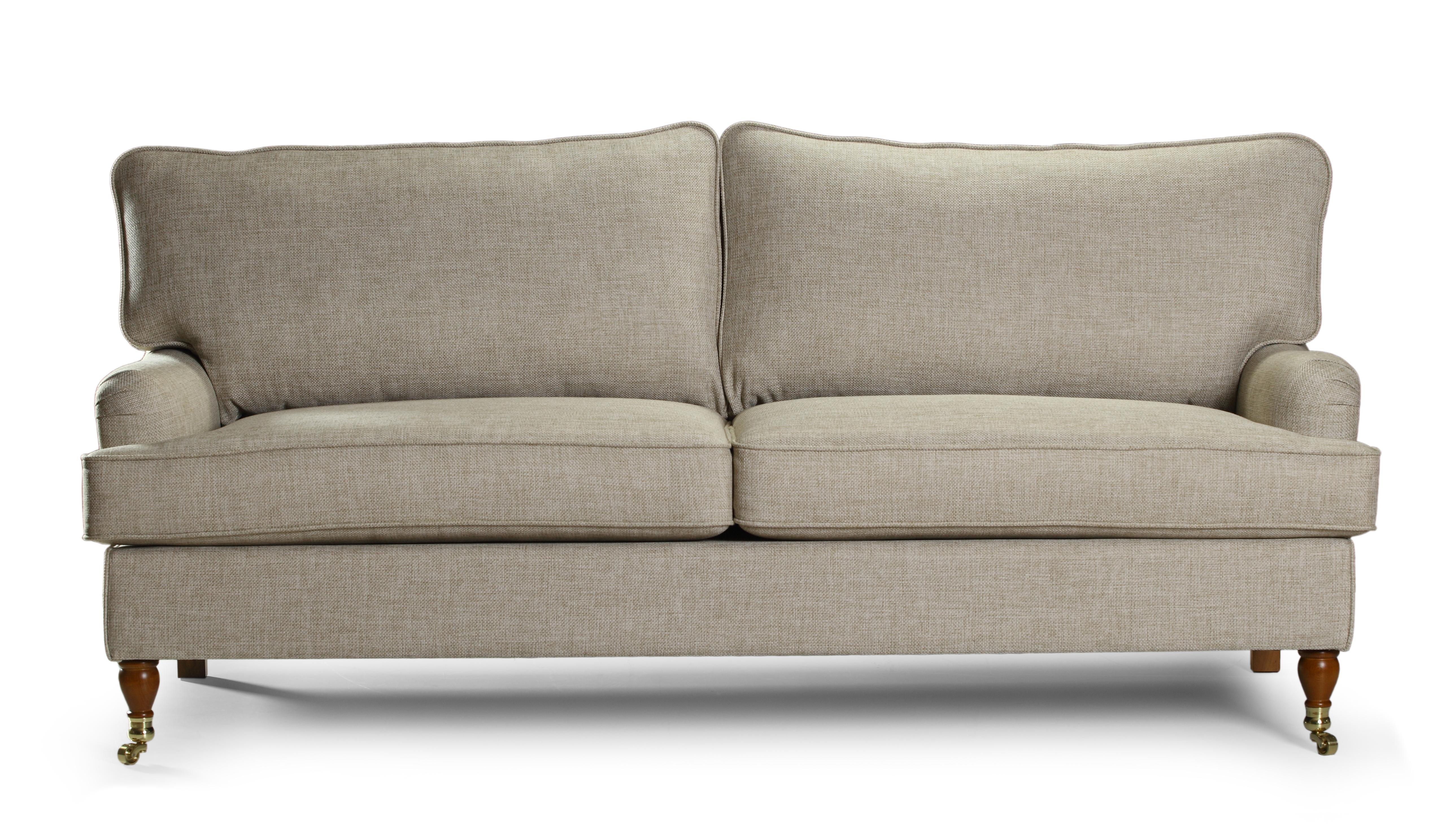 Canapea fixa 3 locuri tapitata cu stofa Howard