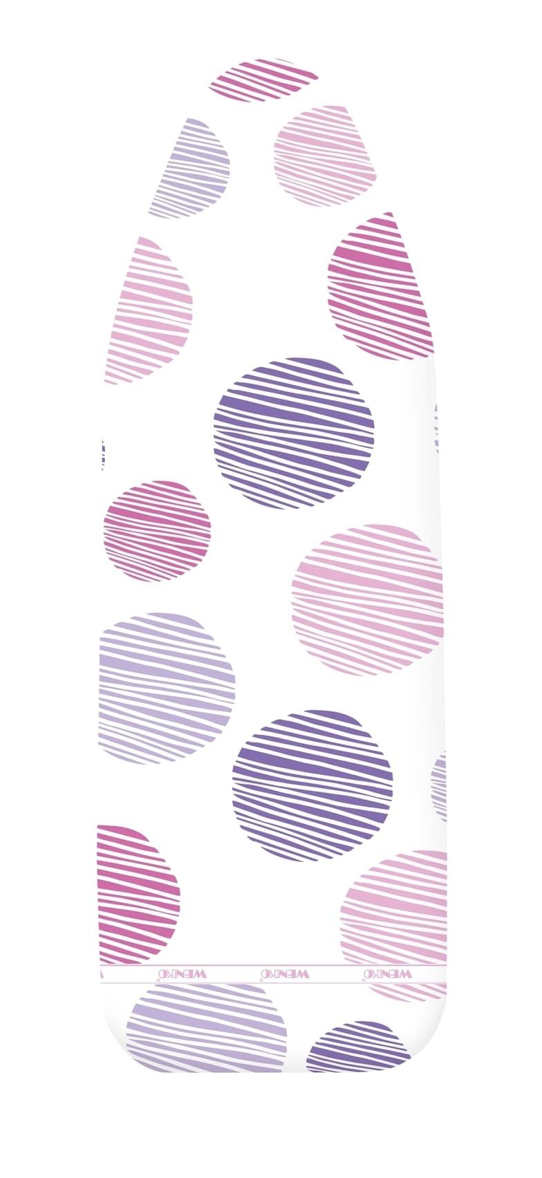 Husa masa de calcat din bumbac, Basic Pro M/L, Multicolor, L128xl44 cm imagine