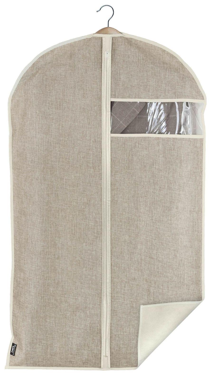 Husa pentru haine cu fermoar, Maison Crem, l60xH100 cm poza