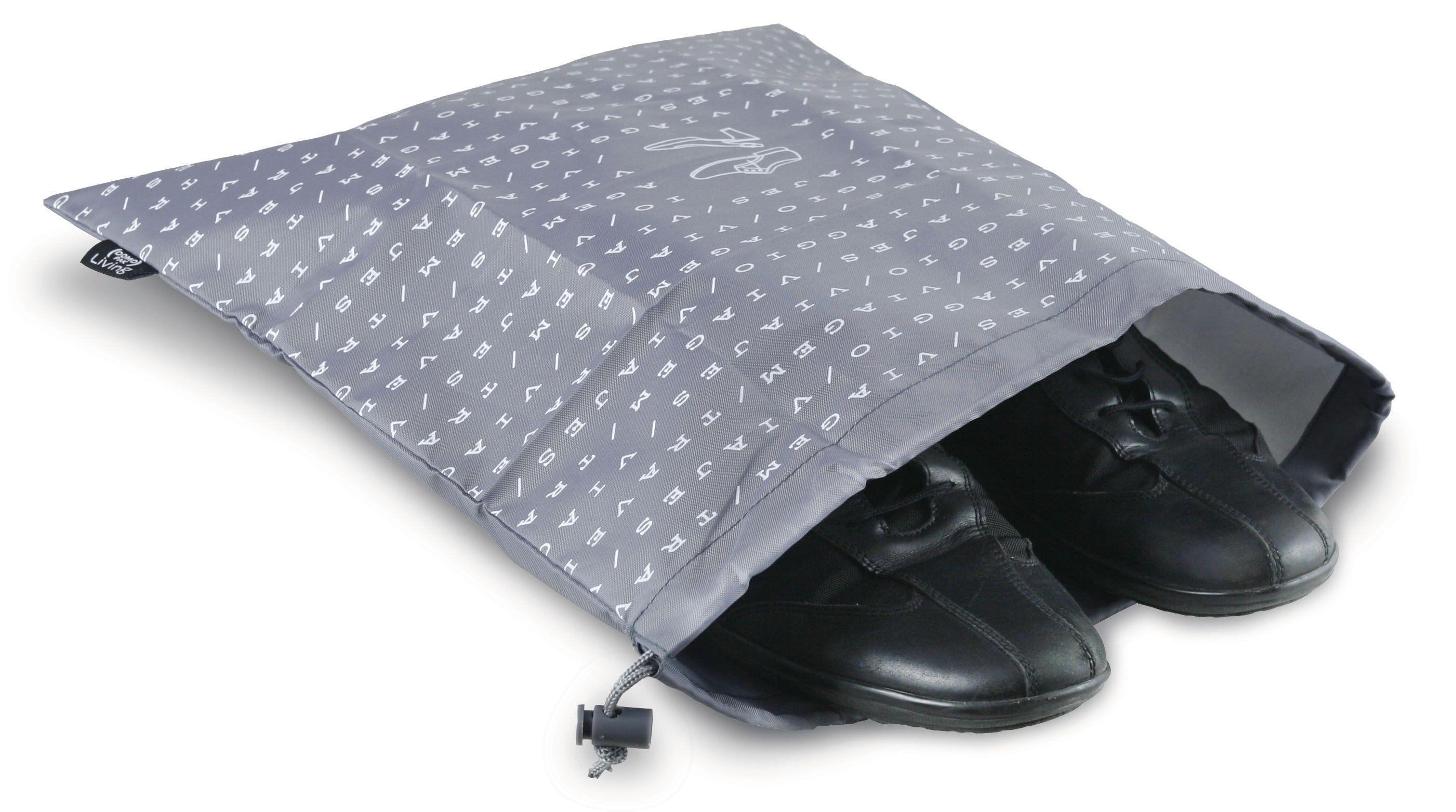 Husa textila pentru incaltaminte, Sach Gri, L40xl36 cm poza