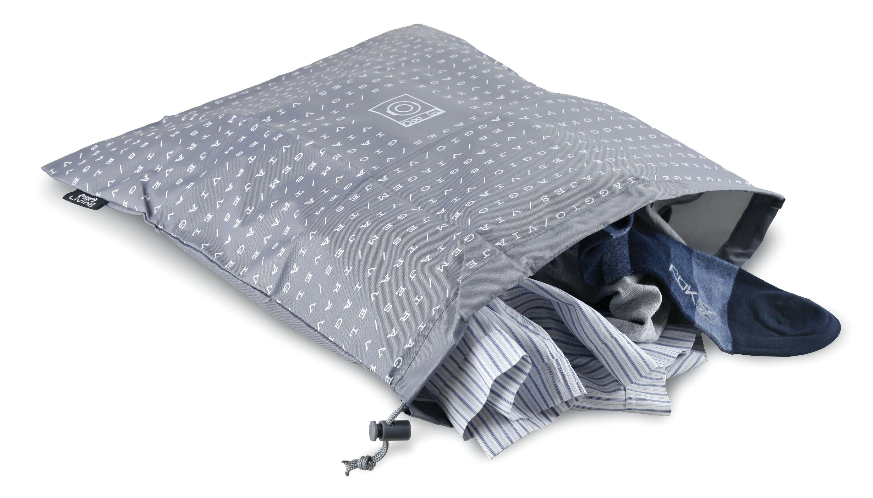Husa textila pentru lenjerie, Sach Gri, L45xl40 cm imagine