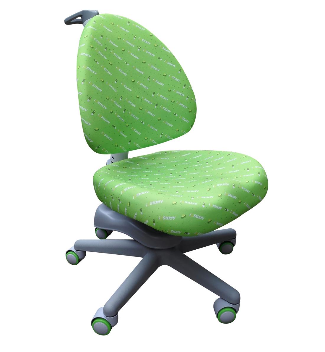 Scaun Faworit Ergodesk, Green, L42xl42xh29/45 cm
