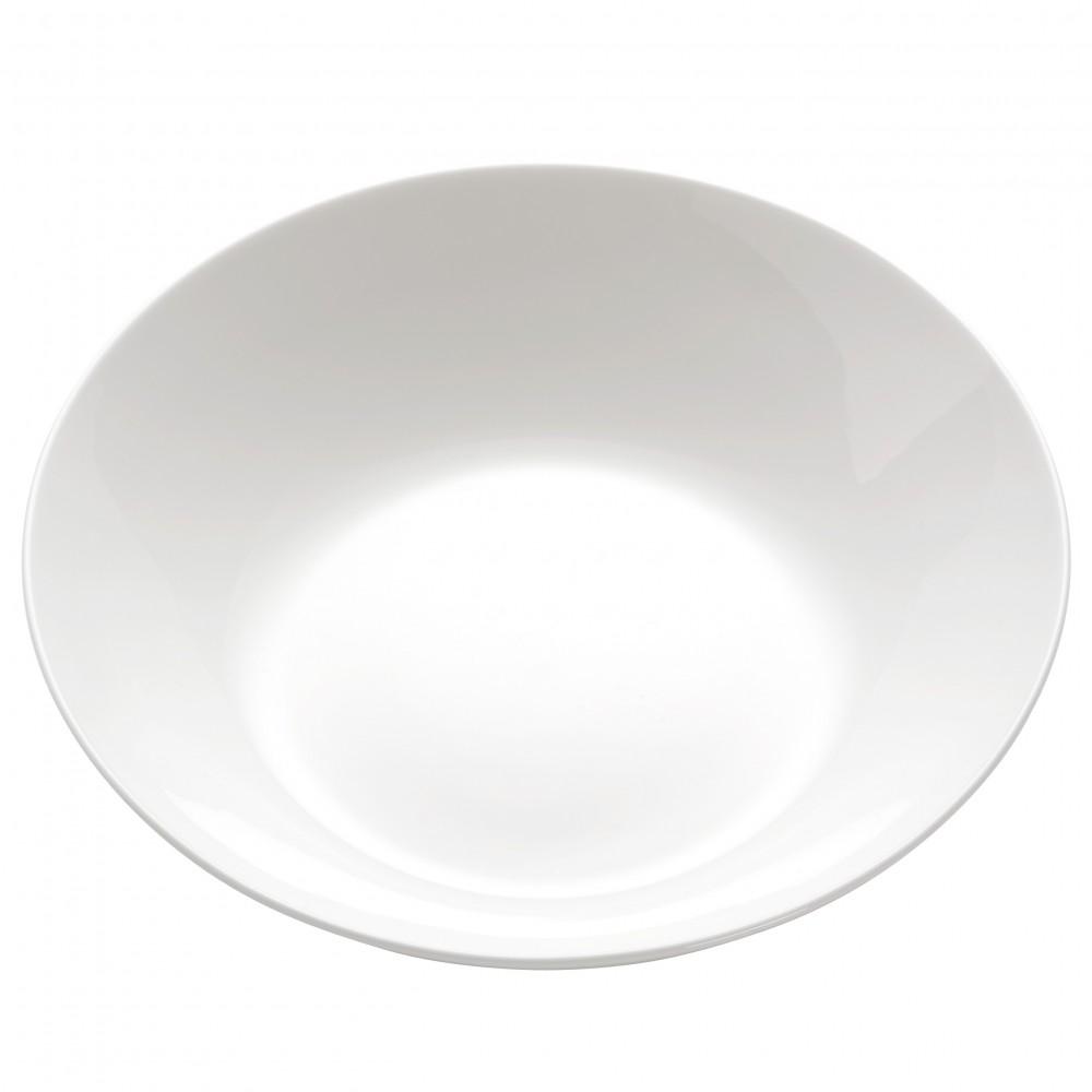 Set 12 Boluri Cashmere Soup Bowl Alb, Portelan, Ø20 cm