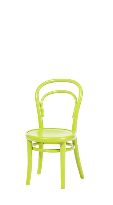 Scaun pentru copii, din lemn de fag Petit Green, l32xA40,5xH63 cm somproduct.ro