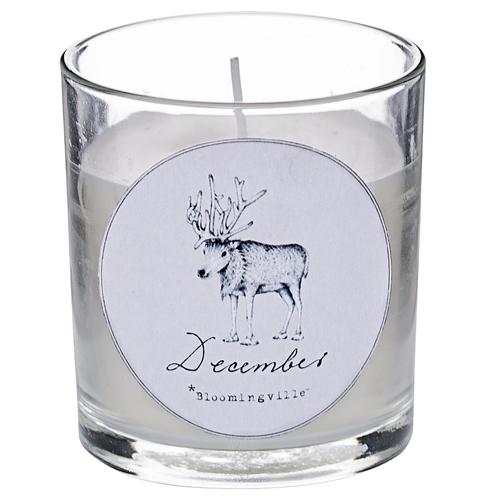Lumanare parfumata  Christmas Mood , Ø7xH8 cm title=Lumanare parfumata  Christmas Mood , Ø7xH8 cm