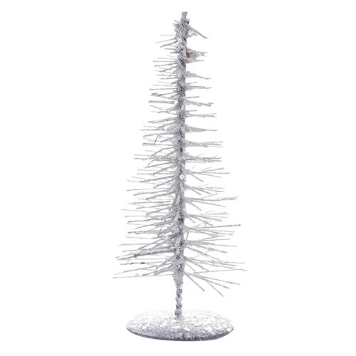 Decoratiune  Tree Glitter  Alb O6xH15 cm