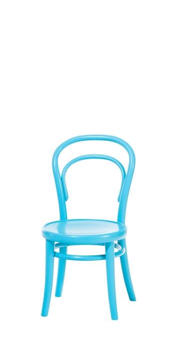 Scaun pentru copii, din lemn de fag Petit Blue, l32xA40,5xH63 cm imagine