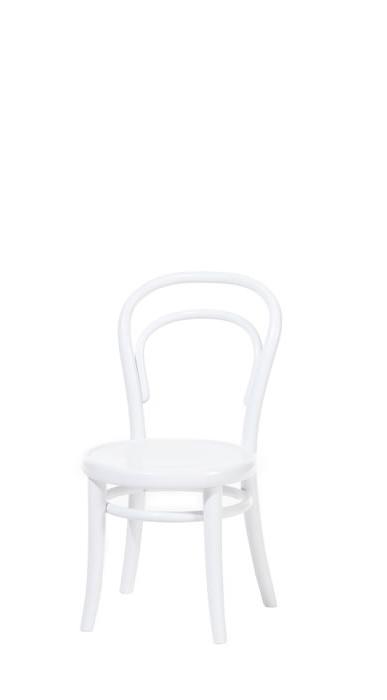 Scaun pentru copii, din lemn de fag Petit White, l32xA40,5xH63 cm